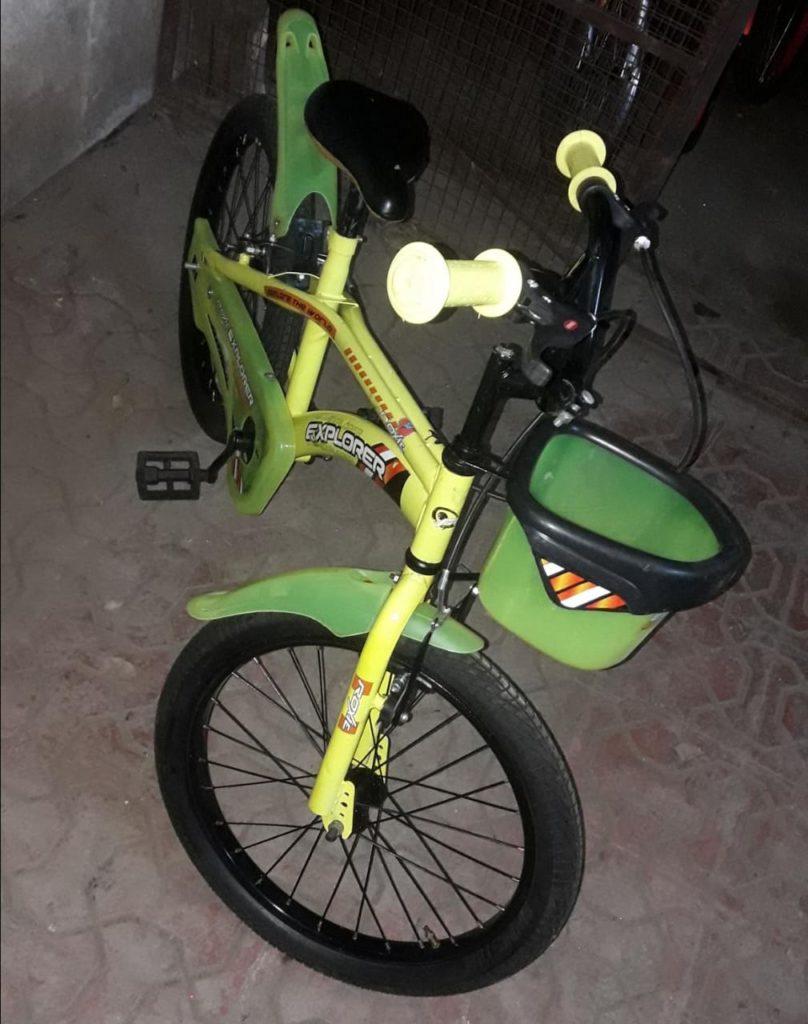 Sanrocycles: Explorer (Yellow- Green) 20'