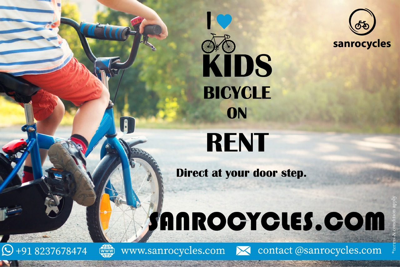 Kids Bicycle on Rent
