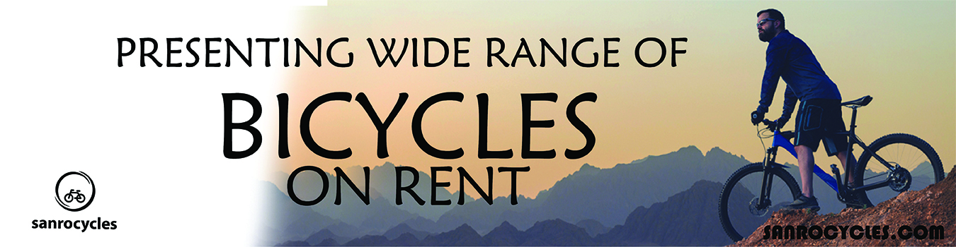 Bicycle on Rent in Pune and PCMC