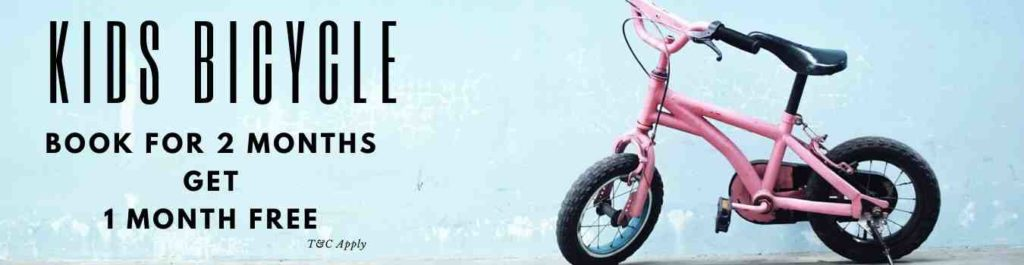 Sanrocycles Kids Bicycle Offer