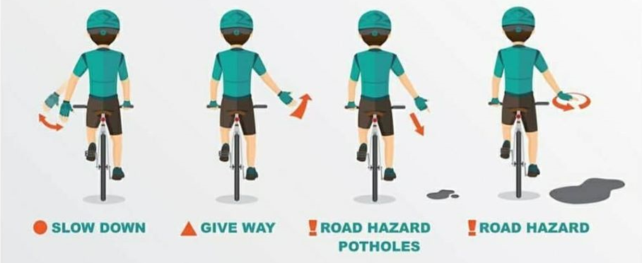 cycling hand Signals2