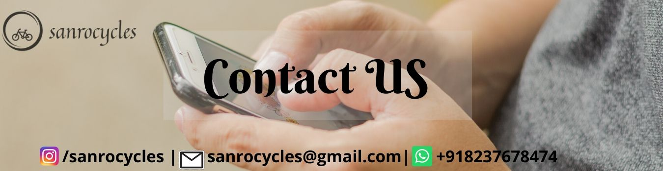 Sanrocycles Contact Us page