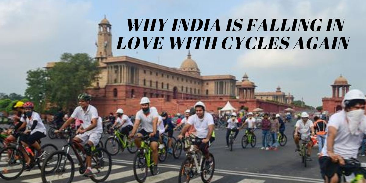 India is falling in Love with cycles again